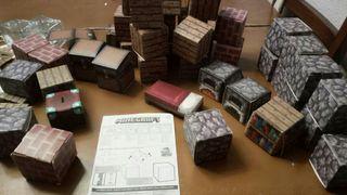 MINECRAFT Set juego construcción bloques (2 sets)