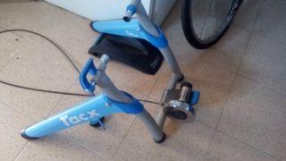 rodillo y bici