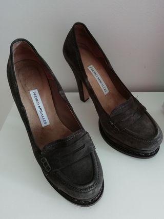 Zapatos Pedro Miralles gris