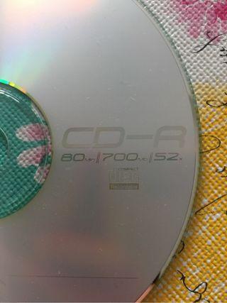 CD y DVD virgen