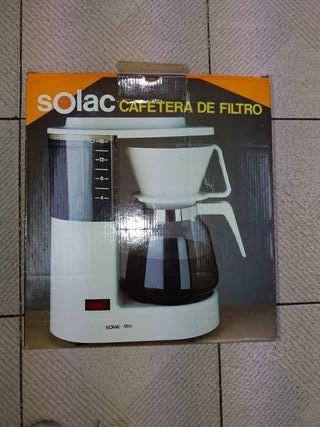 una cafetera
