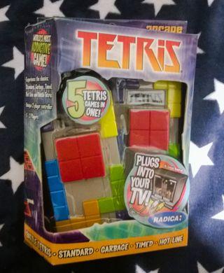 Consola Tetris NUEVA SIN ABRIR Retro Radica Games