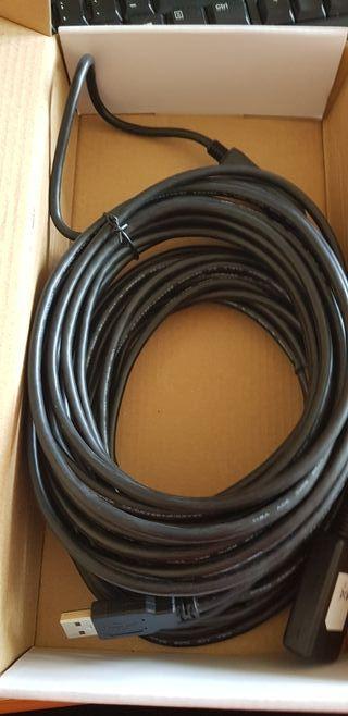 Prolongacion Cable USB 2.O activo 15mts
