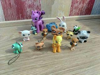 Lote de muñecos variados