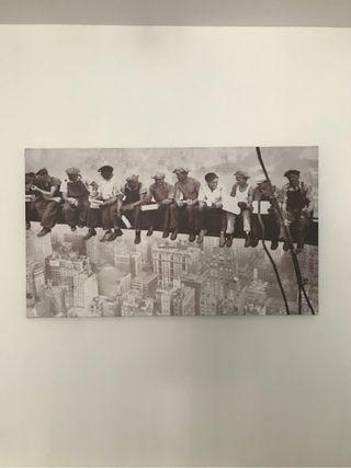 Cuadro obreros en NY
