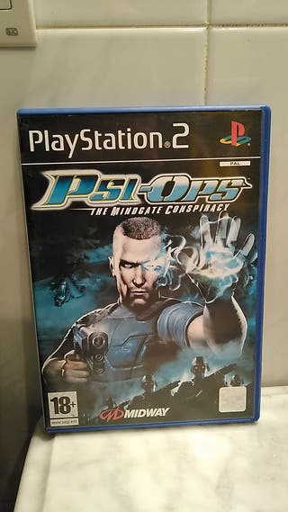 Psi-Ops The Mindgate Conspiracy PS2