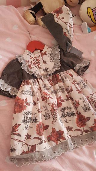 vestido foque niña