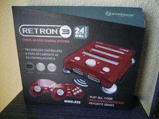 Retron 3 retron hyperkin consola