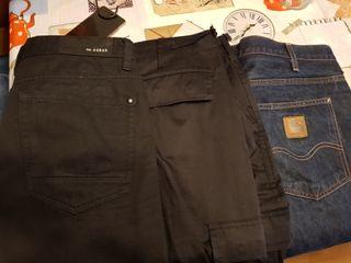 3 pantalones talla 48