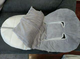 saco invierno silla