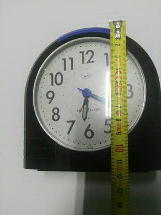 reloj casio de mesa a pilas