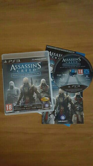 ASSASINS CREED HERITAGE COLLECTION
