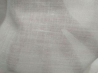 Tela para cortina blanca