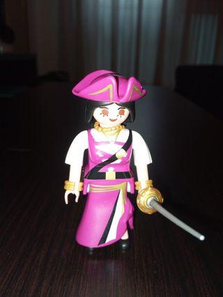 Playmobil Figures Serie 4 Chica pirata