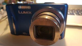 Cámara Lumix DMC-TZ20 Zoom 16x full HD azul