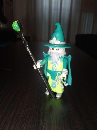 Playmobil Figures Serie 4 Mago verde