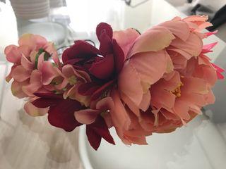 Diadema corona flores
