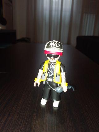 Playmobil Figures Serie 4 rapero