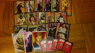 "Cartas Star Wars ""El camino de los jedi"" CARD GAME"