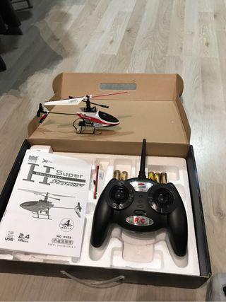 Helicóptero juguete teledirigido