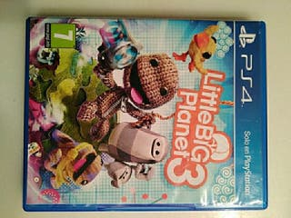 Juego ps4 little big planet 3