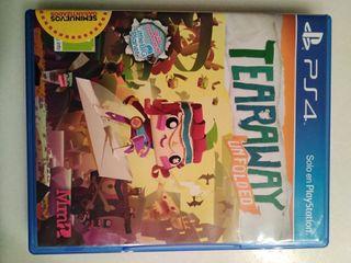 juego ps4 Tearaway