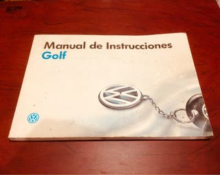 Manual usuario golf 3