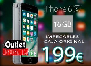 Iphone 6s REBAJADO!! PERFECTO GARANTÍA