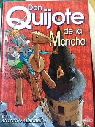 Libro Infantil. Don Quijote de la Mancha.