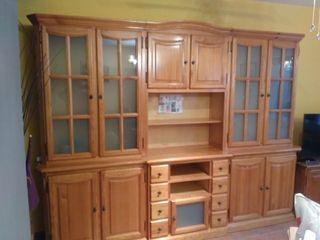 mueble de pino macizo