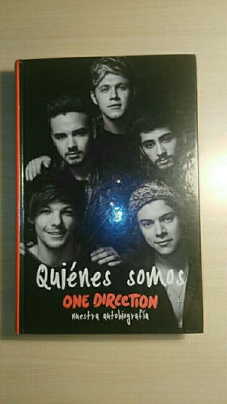 "Libro ""Quienes somos"" de One Direction"