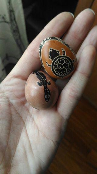 huevos decorativos