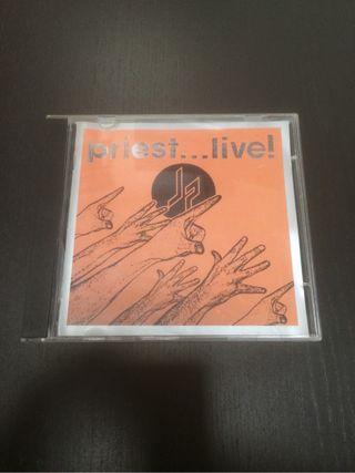 Judas priest priest live cd