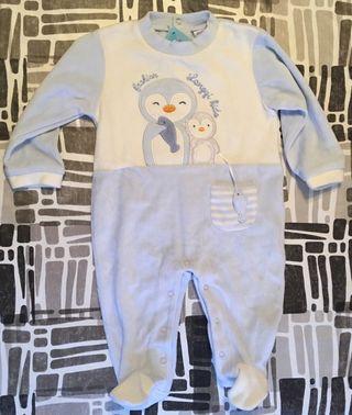 pijama 1 pieza 9/12 meses