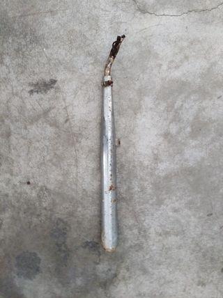 tubo escape derbi varian