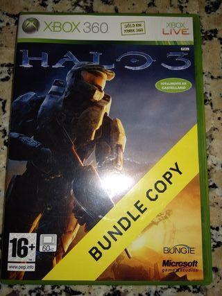 Juego Halo 3 xbox 360