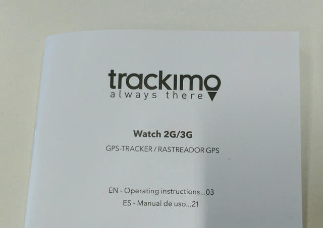 Reloj Trackimo 3G GPS Tracker