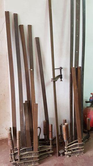 Gatos y prensas carpintería
