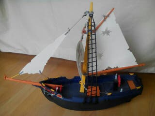 barco pirata goleta Playmobil