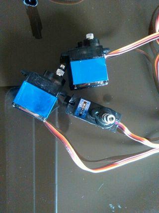 6 Servos Radio Control Dron