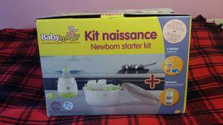 kit nacimiento esterilizador y calienta biberones
