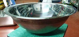 Lavabo de acero inoxidable, de sobre encimera