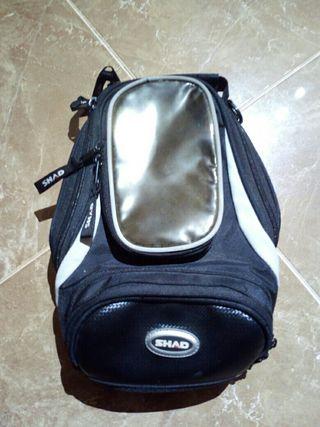 bolsa sobredeposito shad sb12, moto,motocicleta