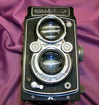 Maquina fotografica ROLLEIFLEX
