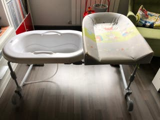 Bañera cambiador Brevi para bebé