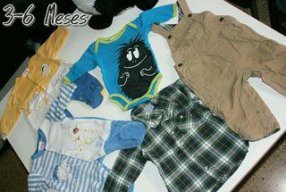Lote de ropa bebe niño