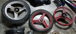 3 ruedas de honda nsr 80
