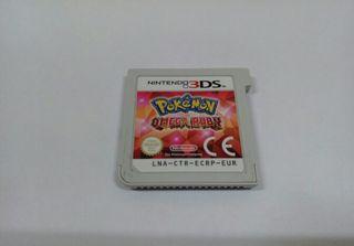 Juego Nintendo 3ds /2ds Pokémon Omega Ruby origina
