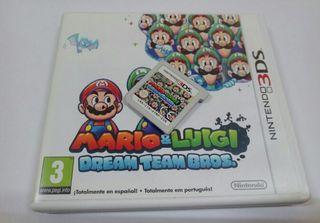Juego Nintendo 3ds Mario & Luigi dream team bros