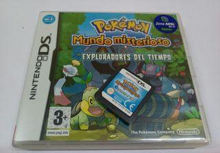 Juego Nintendo Ds Pokémon- Exploradores del tiempo